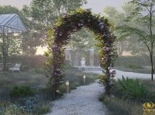 3D Визуализация арки